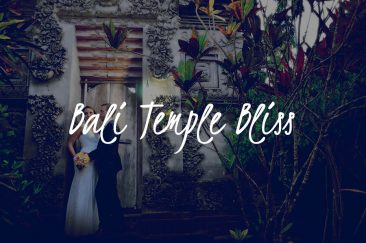 Bali Temple Bliss